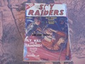 SKY RAIDERS AUG 1939 PULP SEE VIDEO DOUBLE ACTION PUBLICATION
