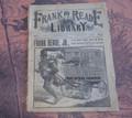 FRANK READE LIBRARY #1 STEAM MAN COVER DIME NOVEL LUIS P SENARENS NO NAME