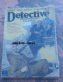 1928 DETECTIVE STORY MAGAZINE PULP JOHNSTON MCCULLEY CRIMSON CLOWN STORY