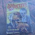 1933 ALL DETECTIVE MAGAZINE PULP WEIRD HORROR NOVEL