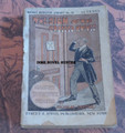 MAGNET DETECTIVE LIBRARY #79 SIGN OF THE CROSSED KNIVES NICK CARTER DIME NOVEL STORY PAPER