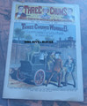 1900 THREE CHUMS #47  DETECTIVE STORY DIME NOVEL STORY PAPER