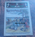 1900 THREE CHUMS #46  DETECTIVE STORY DIME NOVEL STORY PAPER