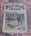 1896 FIVE CENT WIDE AWAKE LIBRARY 1267 DETECTIVE DIME NOVEL STORY PAPER