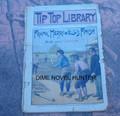 1897 TIP TOP LIBRARY #43 BASEBALL BLUE (YALE) VS CRIMSON (HARVARD) DIME NOVEL