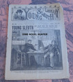 1892 SCARCE FRANK TOUSEY YOUNG SLEUTH LIBRARY #99  DIME NOVEL STORY PAPER