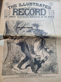 1896 ILLUSTRATED RECORD #70 YELLOW JOUNALISM WILLIAM MCKINLEY GARRET HOBART PRESIDENTIAL RUN