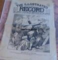 1895 ILLUSTRATED RECORD #110 YELLOW JOUNALISM TRAIN WRECK
