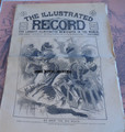 1895 ILLUSTRATED RECORD #64 YELLOW JOUNALISM H H HOLMES SERIAL KILLER STORY PAPER