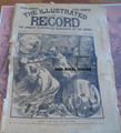 1894 ILLUSTRATED RECORD #4 WHITE CAPS IN NEW YORK STORY PAPER