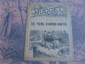 THE NUGGET LIBRARY #89A DIAMOND HUNTER DIME NOVEL STORY PAPER