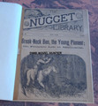 1890 SCARCE NUGGET LIBRARY #68 MINNESOTA FRONTIER DIME NOVEL STORYPAPER