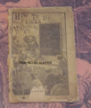 1894 FRANK TOUSEY'S HOW TO DO TRICKS WITH NUMBERS SMALL SCARCE TRICK DIME NOVEL