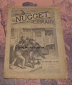 """THE NUGGET LIBRARY #149 """"DONE TO DEATH"""" BOWERY MYSTERY & MURDER DIME NOVEL"""