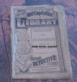 1883 OLD CAP COLLIER #23 THE LONG BRANCH DETECTIVE DIME NOVEL STORY PAPER