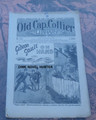 """1895 OLD CAP COLLIER #617 """"GIDEON GAULT ON HAND"""" STORY DIME NOVEL"""