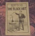1895 FRANK TOUSEY'S HOW TO DO THE BLACK ART SMALL SCARCE MAGIC DIME NOVEL