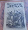 1884 NEW YORK ILLUSTRATED TIMES SCARCE FRANK LESLIE SULLIVAN FIGHT STORY PAPER