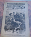 1894 NEW YORK ILLUSTRATED NEWS #328 1894 PROTEST IN WASHINGTON DC STORY PAPER