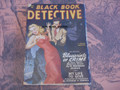 BLACK BOOK DETECTIVE SPRING 1950 BLACK BAT STORY PULP SEE VIDEO THRILLING PUB