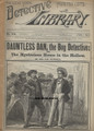 1892 NEW YORK DETECTIVE LIBRARY #476 A CAP DARRELL MYSTERY DIME NOVEL