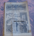 """1898 OLD CAP COLLIER #625 """"BROOKLYN'S GREATEST MURDER MYSTERY"""" DIME NOVEL STORY PAPER"""