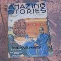 1934 AMAZING STORIES PULP MAGAZINE 02-1934 TECK PUBLICATIONS