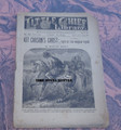 1890 LITTLE CHIEF LIBRARY #187 KIT CARSON GHOST DIME NOVEL SCARCE STORY LINE