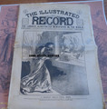 1895 ILLUSTRATED RECORD #64 YELLOW JOUNALISM H H HOLMES SERIAL KILLER STORYPAPER