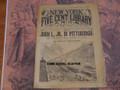 1893 NEW YORK FIVE CENT LIBRARY #26 JOHN L JR BOXING DIME NOVEL