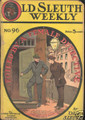 1908-12 OLD SLEUTH WEEKLY STORY PAPER DIME NOVEL COMIC