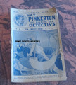 NAT PINKERTON THE KING OF DETECTIVES #255 GERMAN DIME NOVEL STORY PAPER