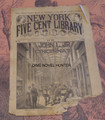 1893 NEW YORK FIVE CENT LIBRARY #34 JOHN L JR BOXING DIME NOVEL