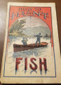 1898 HOW TO HUNT AND FISH FRANK TOUSEY COLORED COVER DIME NOVEL STORY PAPER