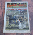PLUCK & LUCK #558 JACK MOSBY GRAY GHOST FRANK TOUSEY SCARCE CIVIL WAR DIME NOVEL