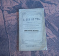 1869 ROBERT DE WITT'S ACTING PLYS #52 A CUP OF TEA DIME NOVEL STORY PAPER