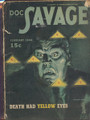 DOC SAVAGE DEATH YELLOW EYES