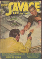 DOC SAVAGE 02-1942,EMERY CLARKE COVER