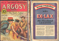 SCARCE VG 1932 ARGOSY WEEKLY ZORRO SAVES A FRIEND