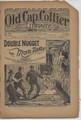 1887 OLD CAP COLLIER 728 SKELETON COVER DIME NOVEL STORY PAPER