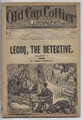 1883 OLD CAP COLLIER LIBRARY # 51 DETECTIVE DIME NOVEL