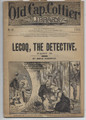 1883 OLD CAP COLLIER LIBRARY # 52 DETECTIVE DIME NOVEL