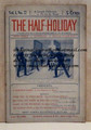 THE HALF-HOLIDAY # 22 UPTON SINCLAIR SCARCE DIME NOVEL STORY PAPER