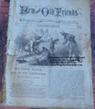 RARE BEADLES NEW AND OLD FRIENDS EDWARD ELLIS BEADLE'S DIME NOVEL STORY PAPER
