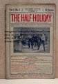 THE HALF-HOLIDAY # 03 UPTON SINCLAIR SCARCE DIME NOVEL STORY PAPER