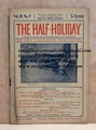 THE HALF-HOLIDAY # 09 UPTON SINCLAIR SCARCE DIME NOVEL STORY PAPER
