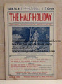 THE HALF-HOLIDAY # 10 UPTON SINCLAIR SCARCE DIME NOVEL STORY PAPER