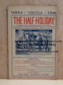 THE HALF-HOLIDAY # 14 UPTON SINCLAIR SCARCE DIME NOVEL STORY PAPER