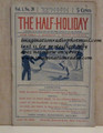 THE HALF-HOLIDAY # 20 UPTON SINCLAIR SCARCE DIME NOVEL STORY PAPER