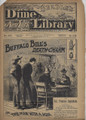 BEADLES NEW YORK DIME LIBRARY # 863 BUFFALO BILL DEATH-CHARM :THE MAN With A SCAR DIME NOVEL